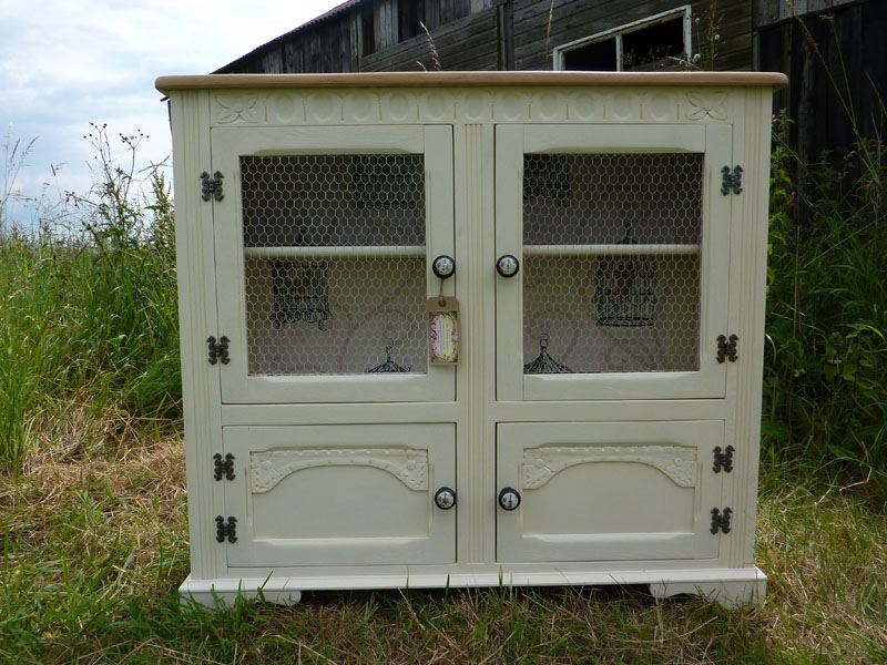 Country Style Display Cabinet Bookcase