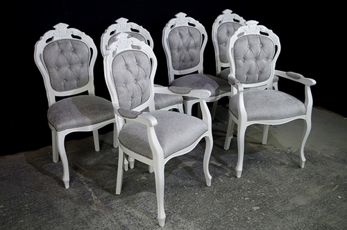Upholstered Louis Chairs
