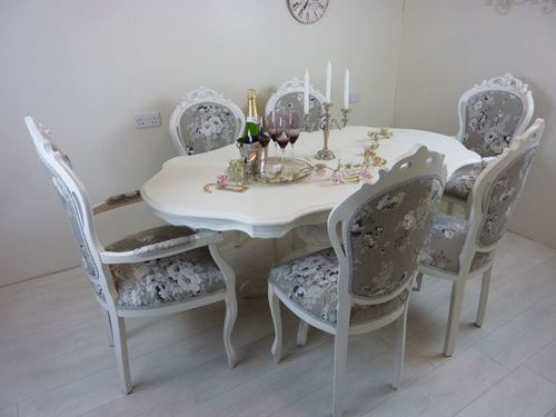 Picture of French Inspired Table and 6 Chairs