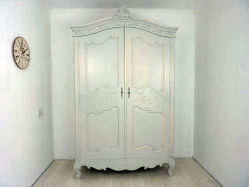 Picture of French Antique Carved Armoire