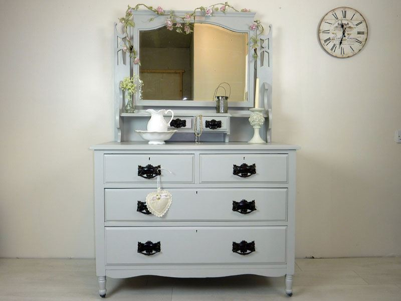 Dressing Image Great Henley Oak Drawer Dressing Table