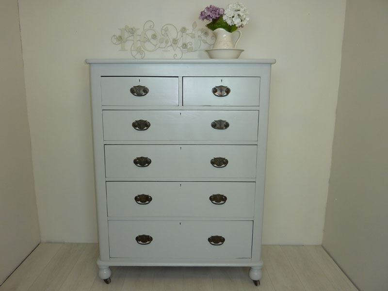 Picture of Antique Tall Chest of Drawers