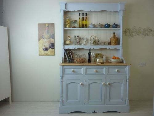 Picture of Tall Country Style Pine Dresser