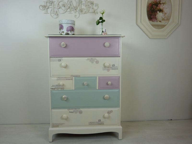 Picture of Stag Tall 7 Drawer Chest