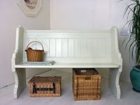 Picture of Victorian Solid Pitch Pine Pew