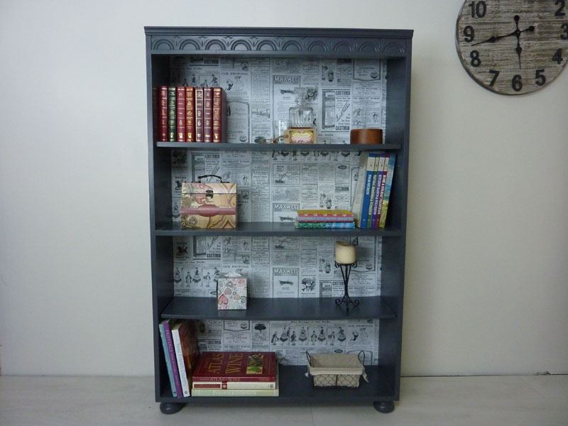 Picture of Tall Vintage Bookcase