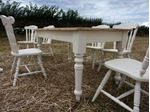 Picture of Pine Farmhouse Table and 6 Chairs