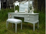 Picture of Stag Dressing Table and Stool - Lady of the Lake
