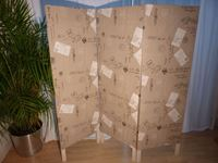 Picture of Vintage Style 3 panel Dressing Screen / Room Divider