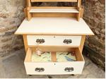 Picture of Antique Oak Dressing Table Shabby Chic Style