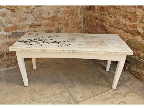 Picture of Decoupaged Table
