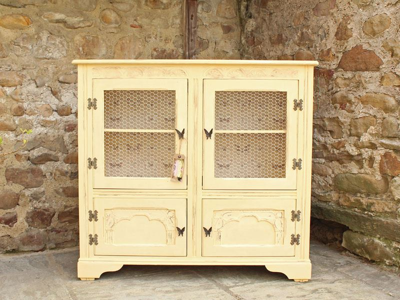 Attirant Picture Of Shabby Chic Vintage Display Cabinet/ Bookcase