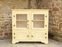 Picture of Shabby Chic Vintage Display Cabinet/ Bookcase