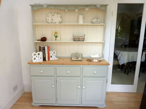Picture of Large Farmhouse Painted Pine Dresser