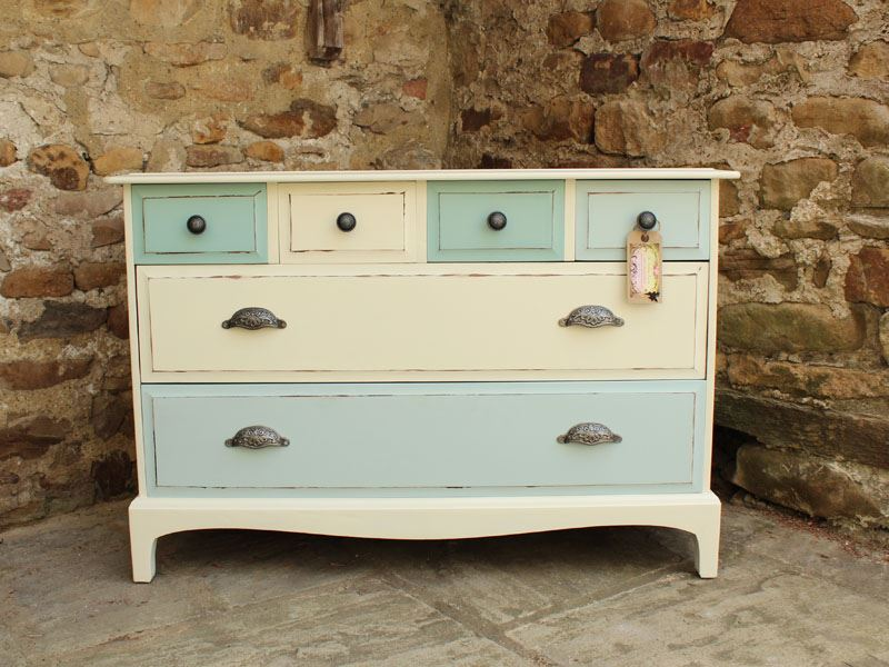 Picture of Stag 6 Drawer Chest - Shabby Chic