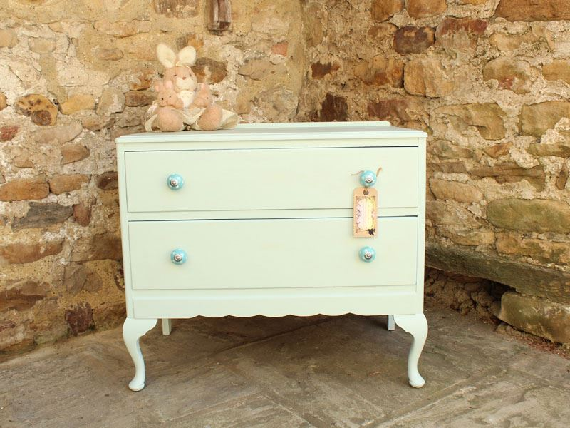 Picture of Petite Chest of Drawers Shabby Chic Style