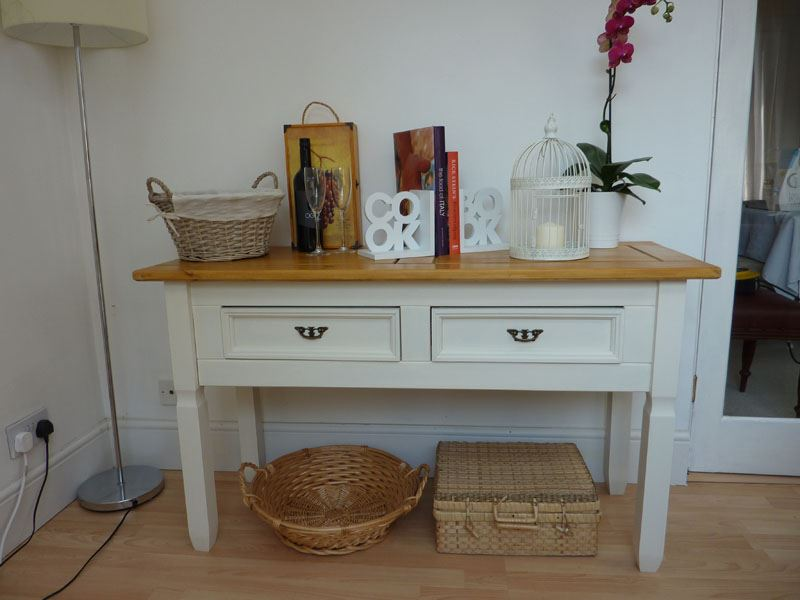 Picture of Pine Console Table