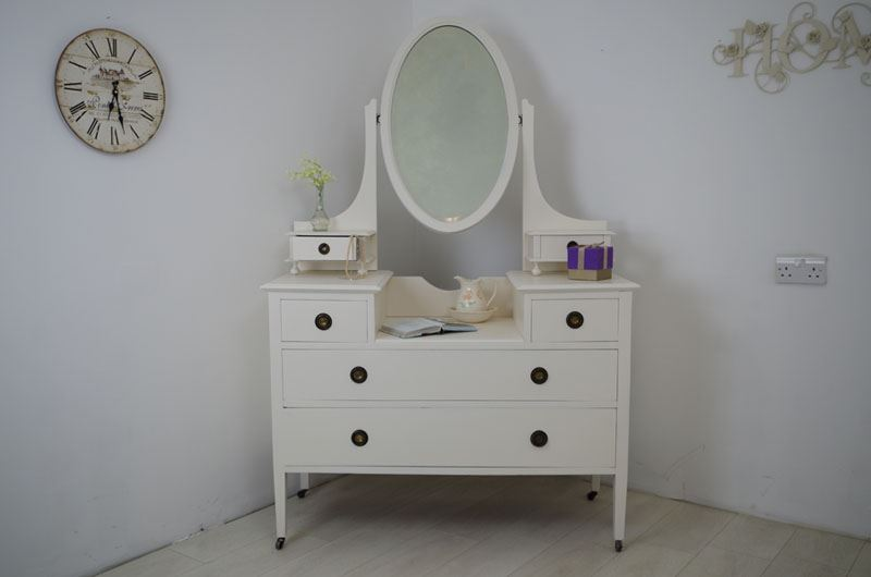 Picture of Antique Edwardian Mahogany Dressing Table