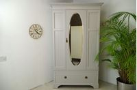 Picture of Wide single door Vintage Wardrobe