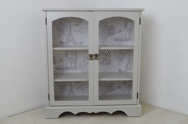 Picture Of Vintage Display Cabinet