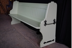 Picture of 7ft Victorian Pitch Pine Church Pew