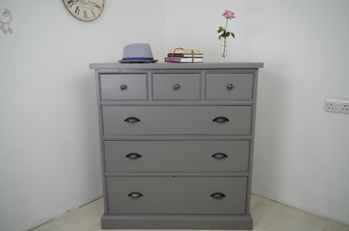 Picture of Tall Pine Chest of Drawers