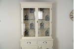 Picture of Two door Yew Display Cabinet