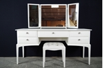 Picture of Stag Dressing Table with Stool - Lavender Days