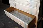 Picture of Edwardian Dressing Table - New White