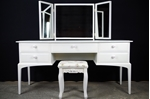 Picture of Stag Dressing Table and Stool - Vintage Roses