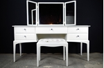 Picture of Stag Dressing Table and Stool - Crystal and Lavender