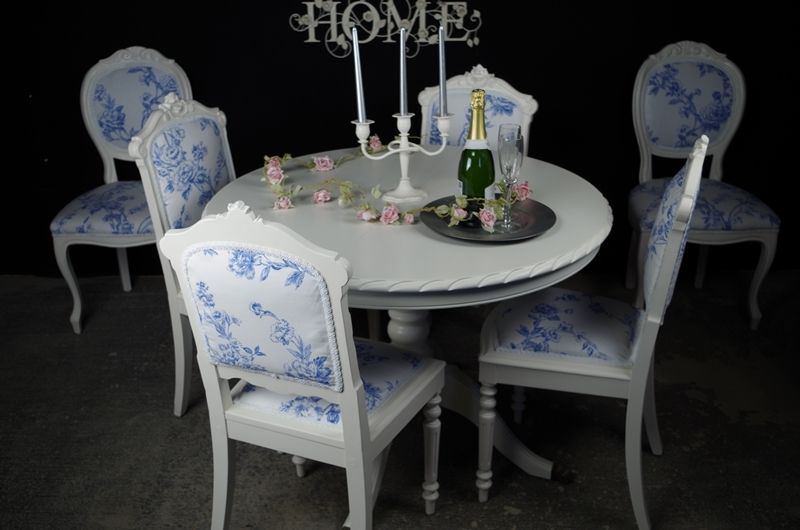 French Style Extending Dining Table With 4 Antique and 2  : 0010361french style extending dining table with 4 antique and 2 vintage louis chairs from www.thefettlingfairies.com size 800 x 530 jpeg 222kB