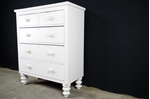 Picture of Large Antique Victorian 5 Drawer Chest
