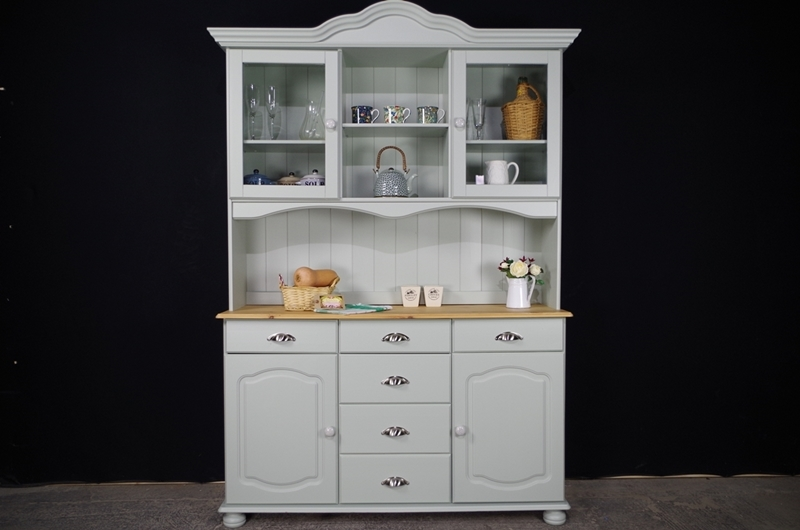 Picture of Country Pine Dresser in Moonstone