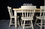 Picture of Unique 5ft 6in Pine Farmhouse Table + 6 Chairs
