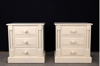 Picture of High Quality Pine Bedside Chests