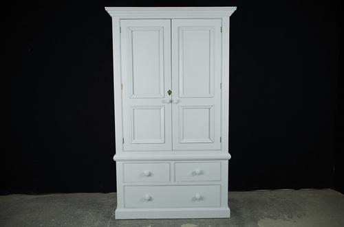 Picture of 2 Door Reclaimed Pine Wardrobe