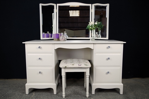 Picture of Stag 6 Drawer Dressing Table and Stool - Butterflies