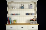 Picture of Country Pine Dresser with Display Shelves
