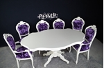 Picture of French Style Dining Table and 6 Chairs