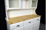 Picture of Pine Boarded Dresser in Pale Linen