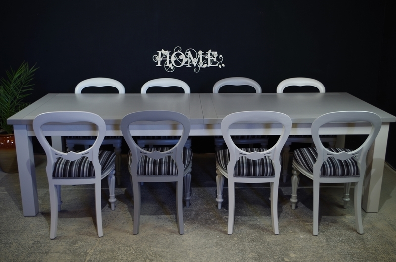 Picture of Large Antique and Modern Combo Dining Set