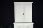 Picture of Antique Mahogany Linen Press