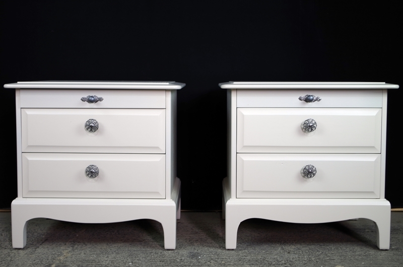 Picture of Pair of Stag Bedside Tables