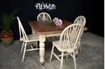 Picture of Victorian Extending Wind Out Table and 6 Wheelback Chairs