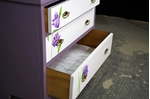 Picture of Art Deco 1920s Dressing Table with Original Flower Art