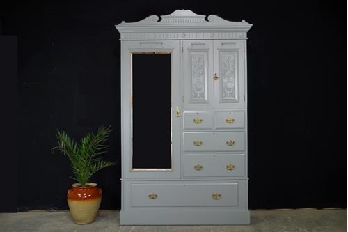 Picture of Late Victorian Compactum Wardrobe