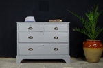Picture of Antique Georgian/ Early Victorian 4 Drawer Chest