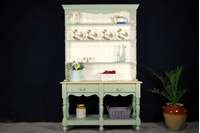 Picture of Pine Pot Board Dresser with 6 legs