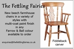 Picture of Oval pine pedestal table + 6 new beech farmhouse chairs
